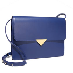 BLACKSEA Bond - Electric Blue Leather