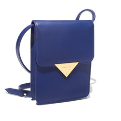 BLACKSEA Bond Mini Electric Blue Leather