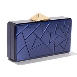BLACKSEA Fragments Clutch Blue