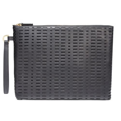 BLACKSEA Varick Pochette Black Laser Cut