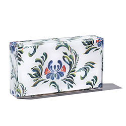 BLACKSEA Eastern Block Clutch White Dutch